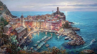 ��������, moonlight in vernazza, cao yong
