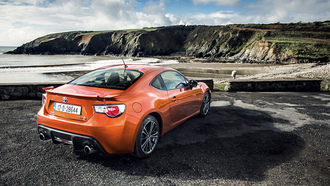 coupe, sky, toyota, scion, whater, orange, gt, rock, gt86, tuning