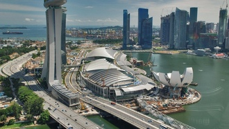 ��������� �������, Marina Bay Sands, ��������, traffic, cityscapes, ������, Singapore
