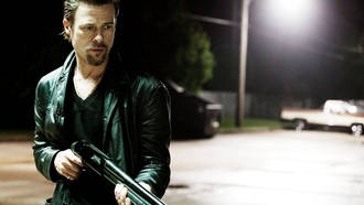 Killing Them Softly, shotguns, Brad Pitt, ������ �� ����, ���������, ���� ����