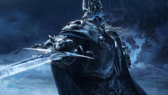 Arthas, frostmourne, Мир Warcraft, Артас, Lich King, Ледяная Скорбь, World of Warcraft