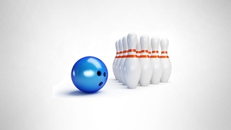 �����������, entertainment, ����� ���, �������, pins, white background, �����, ������, bowling, sports