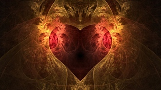 �����������, abstract, hearts, ������