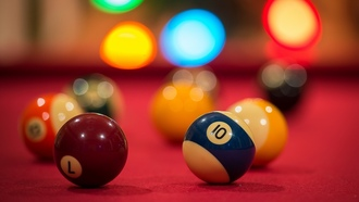 ����, balls, pool table, bokeh, ����, billiards, ���������� ����, �������