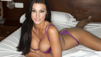 bedroom, cleavage, ��������, brunettes, models, ��������, boobs, �������, women, huge boobs, Alice Goodwin, ������, ������, ketchup, ������, �������, �������� ������