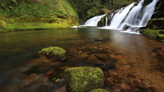 ����, �������, usa, oregon, east fork coquille river
