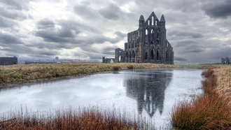 ������, rivers, ������, ���, England, ruins