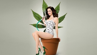 series, �����, TV, �����, Mary-Louise Parker, �������, gray, flowers, �����, ���������, ���������, marijuana, ����, pot, weeds, ����-���� ������
