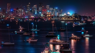 yachts, ��������� �������, cityscapes, ����