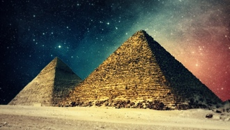 ��������, �������� ���������, pyramids, landscapes, �������, digital art