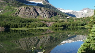 ������, Glacier National Park, mountains, 2008, pine trees, ���������, �����, trail, lakes, ����, reflections, many, vacation, �����, �����, glacier, �����, ����