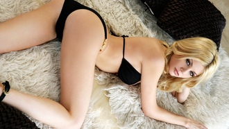 lying down, underwear, �������, ����� ����, beds, blondes, Riley Steele, ������ �����, ����, ���������