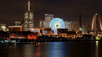 ������, cityscapes, ��������, Japanese, Japan, ����, night, ��������� �������