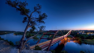 landscapes, ������, �������, austin, �����, bridges
