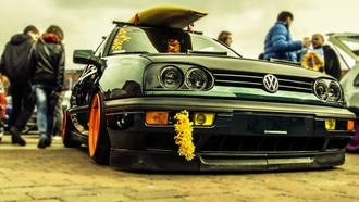 ����������, summer, ����, VW golf, Volkswagen, �������, surfing, cars, VW Golf