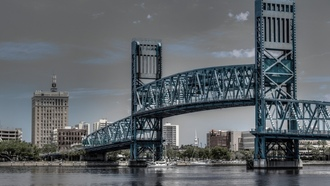 джексонвилл, florida, main street bridge, jacksonville