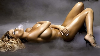 boobs, beauty, lying, hot, girl, smoking, smoke, katie price