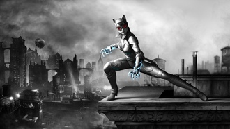Batman arkham city armored edition, selina kyle, �������-�����, catwoman