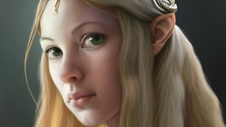 galadriel,  the lord of the rings, corrado vanelli, ��������� �����, ���