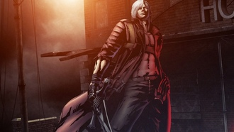 dmc, devil may cry, fate of two worlds, dante, game wallpapers, guns, marvel vs capcom 3, sword