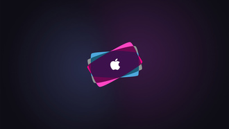 apple, colorful, backround, brand, hi-tech, mac, logo