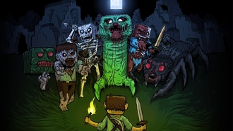 ������, ���������, creeper, minecraft, zombie, �����