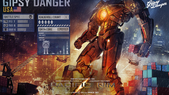Pacific rim, ������������� �����, �����, GYPSY DANGER