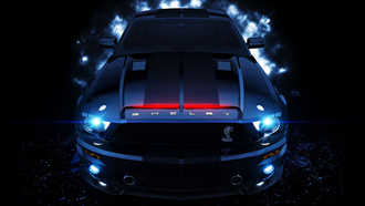 night rider, k_i_t_t, shelby
