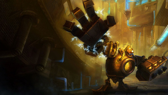 league of legends, stunner #1, blitzcrank, lol, блиц