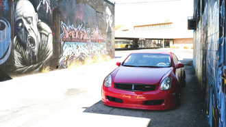 walls, ��������, graffity, infinity, coupe, ��������, g35