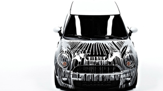art-car, cars, ����, auto wallpapers, ����� ���, �����, ���� ����, krink, ���� ����, mini