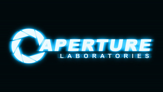 неон, laboratories, portal 2, aperture, логотип, logo, портал 2