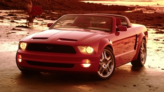 mustang gt, convertible concept, 2003