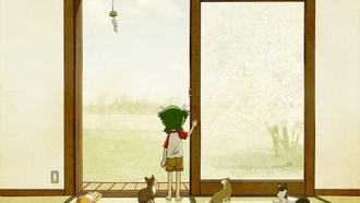 �������, the cat days of summer, �����, �������, �����, yotsubato