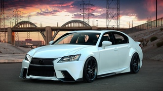lexus, �������, ���, ����, �����, ��������, ������, project gs, ��, �����, tuning, ������, gs, ������, ����, by five axis