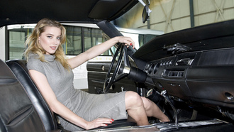 dodge, ���������, �����, ����, ����� ����, amber heard, charger, �������, cars, wallpaper, �� ����, ����, �����, ������, ��������