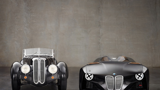 concept car, hommage, old, bmw, new, 328