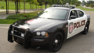dodge, ������, muscle, dodge charger, police, car