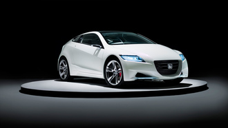 hybrid, cars, auto wallpapers, �������, �����, cr-z, honda, concept, �����, ���� ����, ���� ����