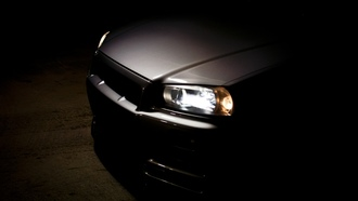 cars, r34, skyline, nissan, ���� ����, auto, ������ ���, cars wall, wallpapers