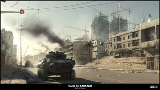 back to karkand, game, battlefield 3, ����
