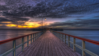 walk, sky, blue, sea, hdr, landscape, ocean, sunset, clouds, pretty, amazing, nature, view, scenery, bridge, photography, colors, beautiful, great, beauty, place, nice, wat, lovely, cool, architecture
