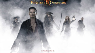 ������ ���������� ����, ���� ������, johnny depp, �������, ������� ����, �����, orlando bloom, keira knightley, ������ ����, pirates of the caribbean