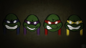 raphael, �����, ��������� ������, �������, leonardo, ���������, donatello, ��������, teenage mutant ninja turtles