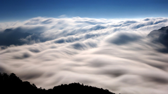 ����, mt. ho-hwan clouds in nantou, ������, taiwan