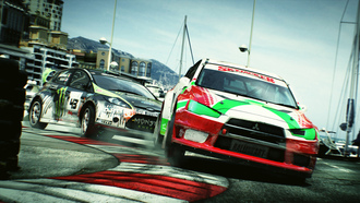 монте-карло, mitsubishi, dirt 3, ford, game, трасса, поворот, rally