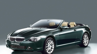 bmw 650i, angle, front, coupe