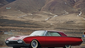 1961, firestar, ford, ����, ����, �������, thunderbird, �������, custom