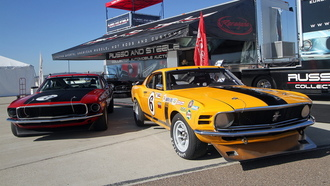 mustang, trans-am race car, ��������, castrol, boss 302, ��������, ������, firestone, �������, ford, �������, russo and steele, ����, goodyear, ������, ��������