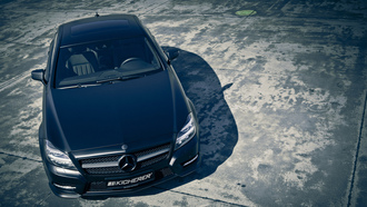 cls, mercedes, kicherer, black edition, ������